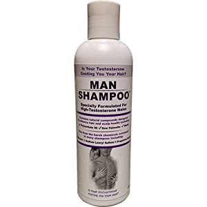 Man Shampoo, 8 Ounce