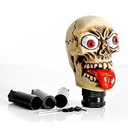 See Dreamer Car Manual Shift Knob Aluminium Alloy Grimace Skull Gear Shift Knob Details