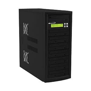 Vinpower Digital Econ-S7T-DVD-BK Econ Series 1 to 7 Target 24 x DVD CD Disc Duplicator Tower SATA Optical Drives - Black