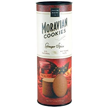 Moravian Ginger Spice Cookies (6 oz)