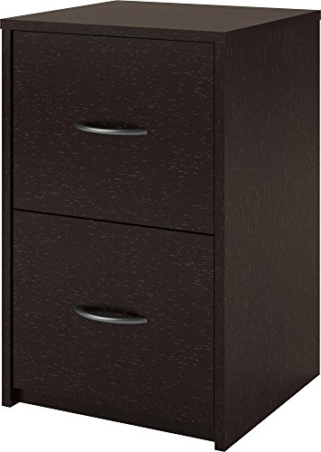 Altra Core 2 Drawer File Cabinet, Espresso (Home Filing Made Easy compare prices)
