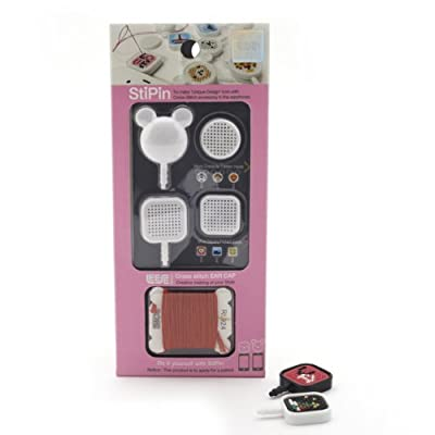 Cross-Stitch Phone Accessory - White ||RNWIT