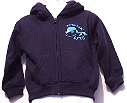 Horse Baby Navy Zip Up Hoodie for Babies/Toddlers £14.99 plus P&P