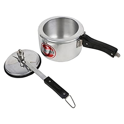 United Pressure Cooker 5 Induction Magic Silver