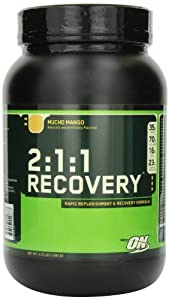Optimum Nutrition 2:1:1 Recovery, Mucho Mango, 3.73-Pound