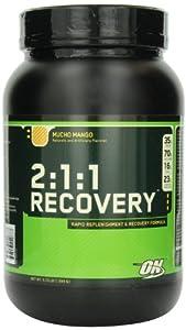 Optimum Nutrition 2:1:1 Recovery, Mucho Mango, 3.73-Pound