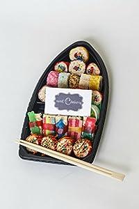 Sweet C Bakery - Candy Sushi - Boat - 22pc