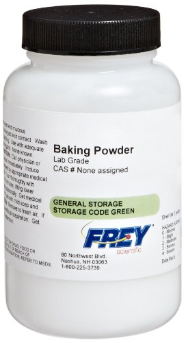 Frey Scientific 577941 Lab Grade Baking Powder, 100g