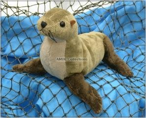 "Wishpets 8"" Northern Fur Seal Plush Toy"