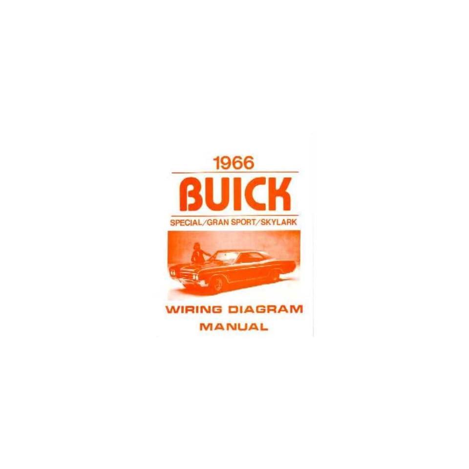 1966 Buick Gran Sport Skylark Special Electrical Wiring