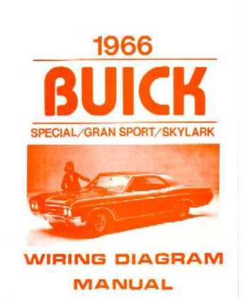 1966 buick gran sport skylark special electrical wiring diagram check price order now