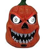 BKOKランタンパンプキン奇声怪物センサー付きパーティグッズ(1.オレンジ)
