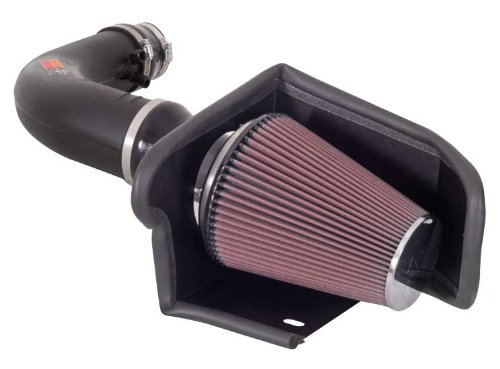 K&N Performance Cold Air Intake Kit 57-2541 with Lifetime Filter for 1997-2004 Ford F150/Expedition, Licoln Navigator 4.6L/5.4L V8