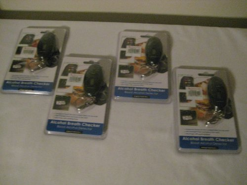 Image of Mini Key Chain Personal Breathalyzer (4 pack) (B0097JLO2I)