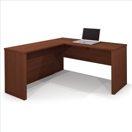 Bestar Prestige Plus L-Desk - Cognac Cherry - 99420-76