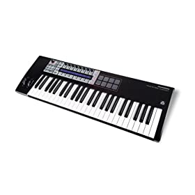 Novation Remote 49 SL Compact USB MIDI Controller Keyboard with AutoMap Universal Technology, 49 Keys