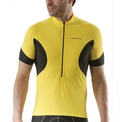 Buy Low Price Giordana Laser Short Sleeve Cycling Jersey – Yellow – (GI08-SSJY-LASE-YELL) (B0012MQH70)