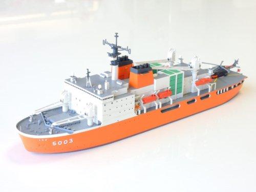 1/700 スケールインジェクションキット海上自衛隊砕氷艦AGB5003 しらせ