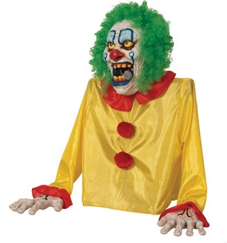 Smokey The Clown Animated Fog 24 inches Halloween Prop
