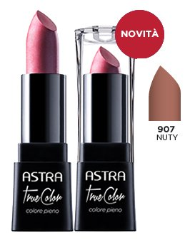 ASTRA TRUE COLOR 907 Nuty Rossetto* Cosmetici