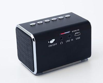 Jumbl Mini Hidden Spy Camera Radio Clock w/Infrared Night Vision - Built-In Screen, Speaker, Micro SD Slot & AUX Line In