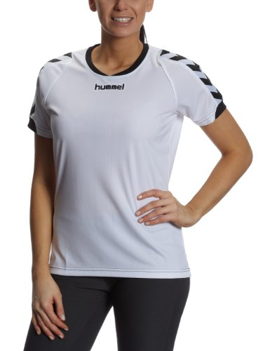 Hummel Damen Trikot BEE AUTHENTIC Short Sleeves JERSEY, white, L, 03-911-9001_9001