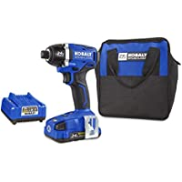 Kobalt 1324A-03 24-Volt 1/4-in Cordless Variable Speed Brushless Impact Driver