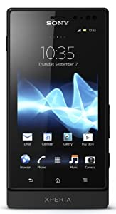 Sony Xperia sola MT27i-BLK Unlocked Phone with 5 MP Camera, Android 2.3 OS, 1 GHz Dual-Core Processor, and 3.7-Inch Touchscreen--U.S. Warranty (Black)