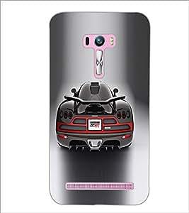 PrintDhaba Car D-5538 Back Case Cover for ASUS ZENFONE SELFIE ZD551KL (Multi-Coloured)