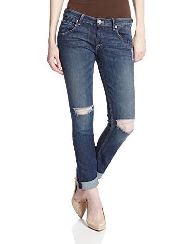 Hudson Women's Bacara Crop Straight Cuffed Jean