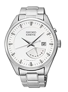 Seiko Women's SRN043 Kinetic Retrograde Indicator Watch