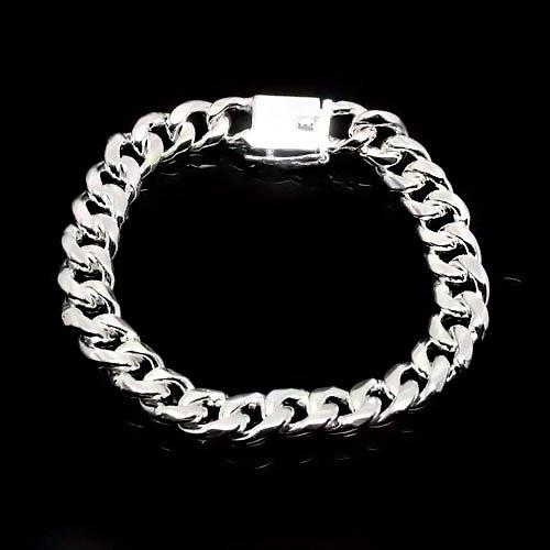 Tungsten Love Square Buckle Bracelet Men's Jewelry