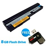 Battpit⢠Laptop / Notebook Battery Replacement for Lenovo L09M6Y14 (4400 mAh) with 8GB Battpit⢠USB Flash Drive