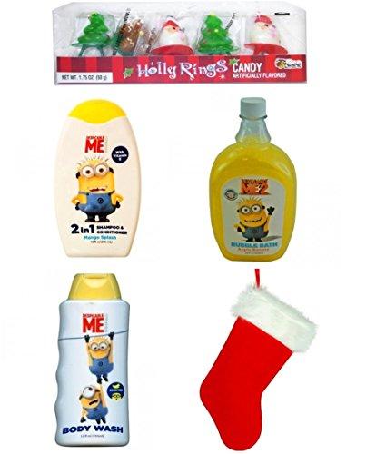 Despicable Me Minion Made Christmas Bath & Body Apple Banana Set Enriched With Vitamin E