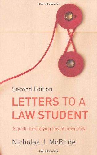 Letters to a Law Student ISBN-13 9781408218808