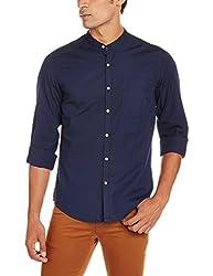 Lee Men's Casual Shirt (8907222646769_L18208386X86XXL_XX-Large_Blue)