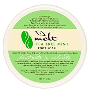 FOOT SOLDIER-Tea Tree Mint Foot Soak