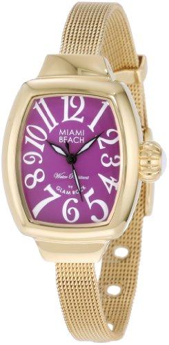 Glam Rock MBD27072 - Reloj para mujeres color dorado