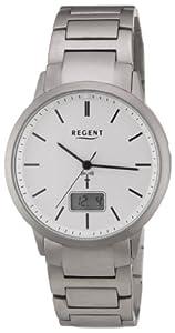 Regent Herren-Armbanduhr XL Analog Digital Titan 11030080
