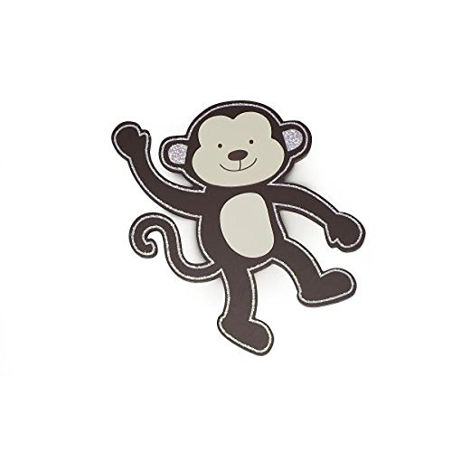 Babies R Us By Design Wood Wall Decor - Monkey - 1