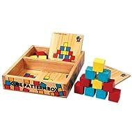 Skillofun Cubes Pattern Box, Multi Color