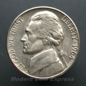 1964-D Jefferson Nickel - 1