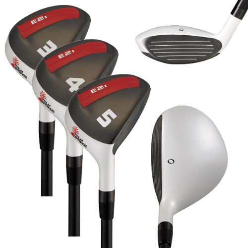 Palm Springs Men's Right Hand Golf Clubs E2i Mens 3-4-5 Hybrid Set (Regular)