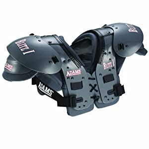 Click here to buy Adams Adult Blitz I Football Shoulder Pad by Adams USA.