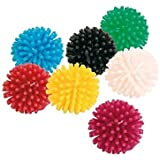 10 x small spikey cat ball toys