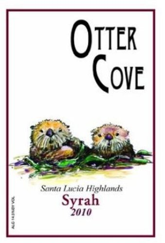 2010 Otter Cove Wines Monterey County Santa Lucia Highlands Manzoni Vineyard Syrah 750 Ml
