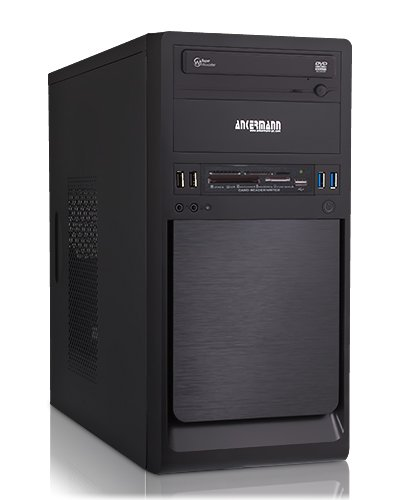 Ankermann-PC Coolboy - AMD A4-5300 2x 3.4 GHz Turbo: 3.70GHz - onBoard Graphic DVI-HDMI-VGA - 4 GB DDR3 RAM - 500 GB hard disk - DVD-RW Writer - senza il sistema operativo - Card Reader - EAN DW-XYBA-97IC