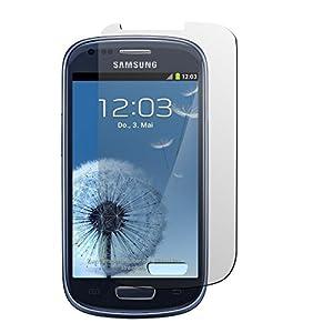 4x Samsung Galaxy S3 mini Schutzfolie - PhoneNatic i8190 Clear Klar Schutz Display Clear Klar Folie Screen Schutzfolien