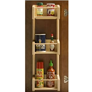 Omega National Cabinet Door Pantry Individual Storage Tray Rack, 11-1/2 inch W