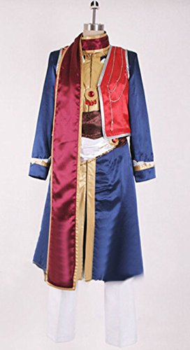 Vicwin-One Black Butler Indian Prince Costume Outfits